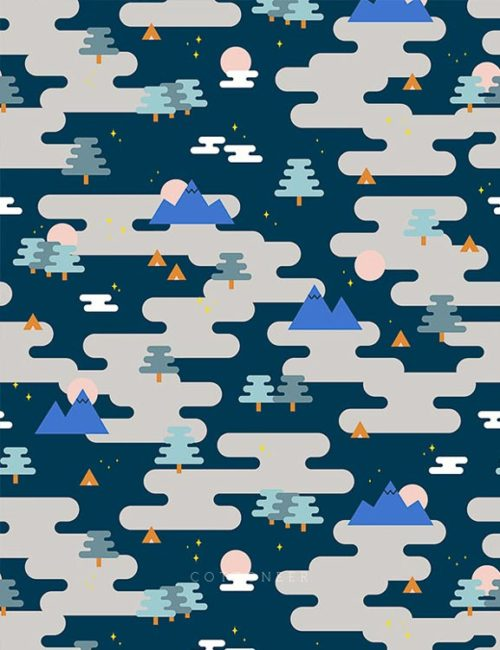 camp-ground-in-navy-multi-around-the-campfire-by-lemonni
