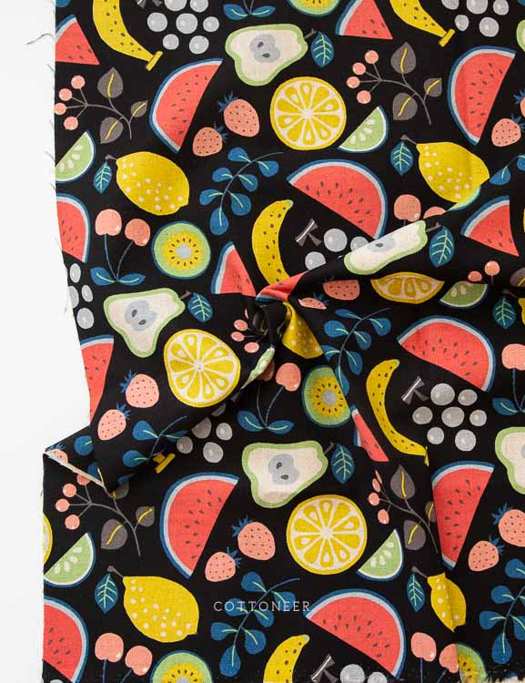 medley-in-black-fruit-salad-linen-canvas-by-kokka